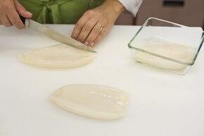 Kalmary nadziewane – krok 1