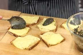 Kanapki z tapenadą z czarnych oliwek – krok 5