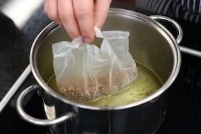 Kasza gryczana z warzywami  – krok 1