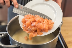 Kartoflanka kaszubska z łososia – krok 5