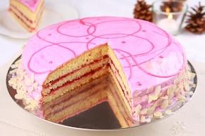 Kaszubski tort z fasoli