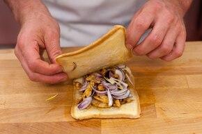 Kebab w chlebie tostowym  – krok 3
