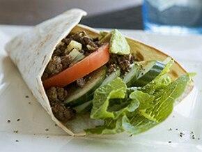 Kebab z mięsa mielonego
