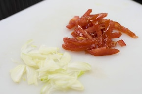 Kebab z sosem czosnkowym  – krok 2