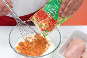 Kieszonki z kurczaka w sosie napoli – krok 3