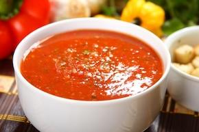 Klasyczne hiszpańskie gazpacho