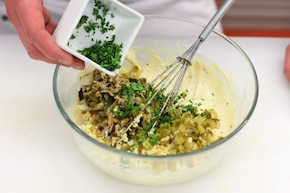 Klasyczny sos tatarski  – krok 4