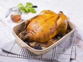 Kurczak po staropolsku marynowany miodem