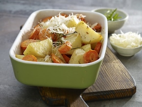 Pieczone warzywa z ziołami