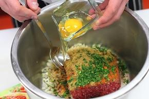 Kofta z sosem neapolitańskim – krok 1