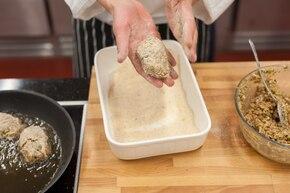 Kotleciki z kaszy gryczanej z pietruszką – krok 4
