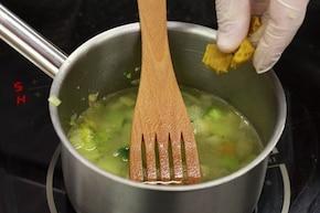 Krem brokułowy – krok 1
