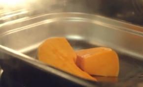 Krem z dyni z mlekiem kokosowym – krok 1