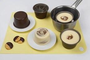 Kremowe tymbaliki z czekoladą – krok 6