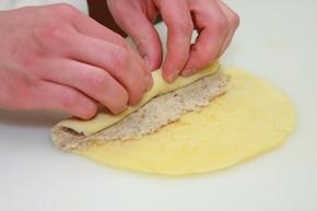 Krokiety z mięsa z rosołu – krok 4