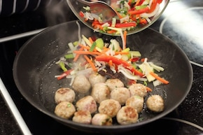 Kulki mięsne po chińsku  – krok 2