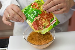 Kulki ryżowe  – krok 1