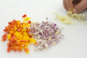 Kulki ryżowe  – krok 2