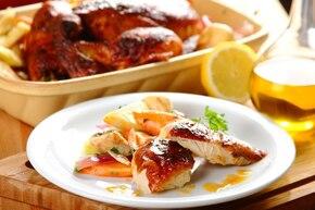Kurczak pieczony w papryce