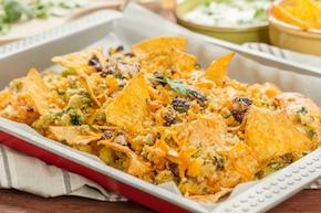 Kurczak po meksykańsku z chrupiąca panierką z nachos