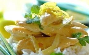 Kurczak po tajsku z curry