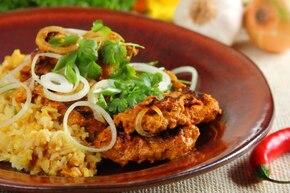 Kurczak Tandoori z ryżem - VIDEO