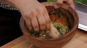 Kurczak w marynacie czosnkowo-ziołowej (francuskiej) – krok 2