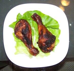 Kurczak w miodowej marynacie