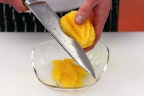 Kurczak w pomarańczach – krok 2