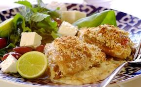 Kurczak w sosie cytrynowym po grecku