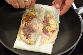 Kurczak w szynce parmeńskiej  – krok 5