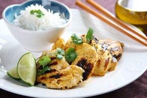 Kurczak z grilla po indyjsku