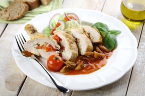 Kurczak z kaszą jaglaną