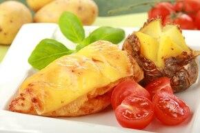 Kurczak zapiekany z ananasem