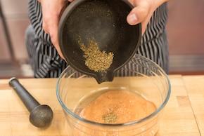 Kurczak z trawą cytrynową – krok 3