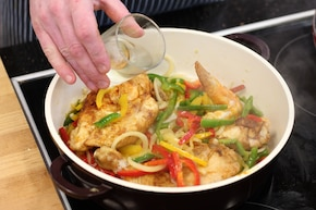 Kurczak z papryką, anyżówką i oregano – krok 3