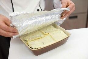Lasagna serowa z bakłażanem   – krok 6