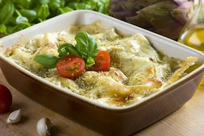 Lasagna serowa z bakłażanem   – krok 7