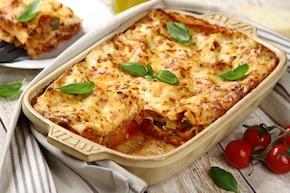 Lasagne z mięsem mielonym i cukinią