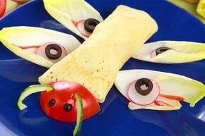 Latające naleśniki z kurczakiem i grzybami  – krok 5