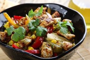 Lekka sałatka à la kebab