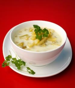 Lekka zupa z fasolki szparagowej