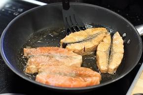 Łosoś po japońsku z wasabi  – krok 2
