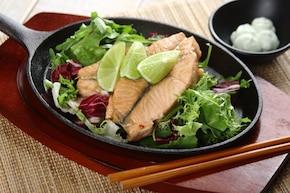 Łosoś po japońsku z wasabi  – krok 3