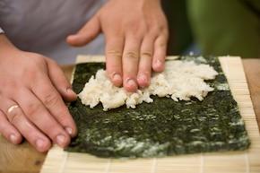 Maki-sushi  – krok 2