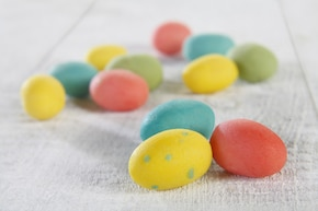 Marcepanowe jajeczka