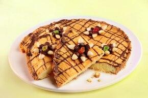 Mazurek migdałowy z czekoladą BEZGLUTENOWY