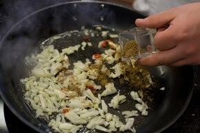 Meksykańskie nachos z chilli con carne – krok 1