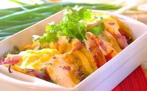 Meksykańskie tacosy z kwaśną śmietaną