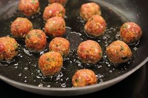 Mięsne kulki z dipem BBQ – krok 2